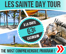 Best excursion to Les saintes Guadeloupe