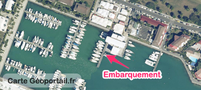 carte catamaran Rousseau