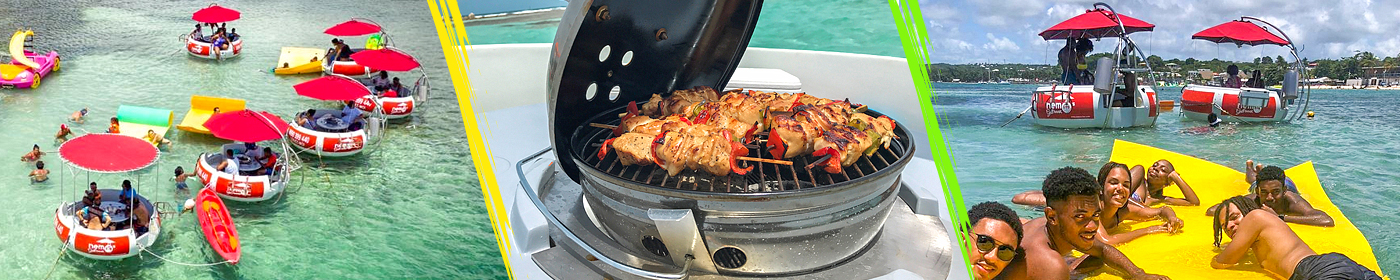 Location BBQ boat guadeloupe