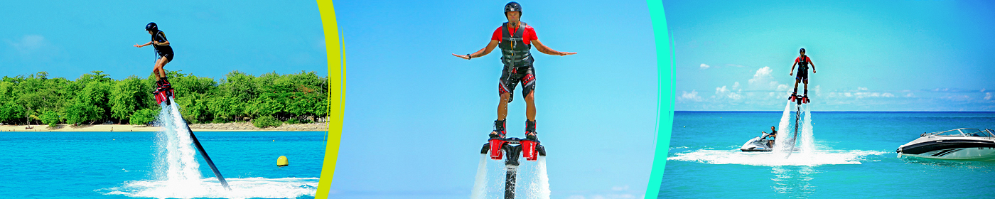 Flyboard et hoverboard- Guadeloupe