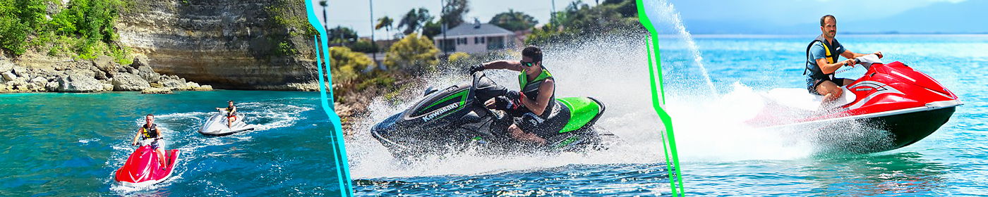 Excursion jet ski - Guadleoupe