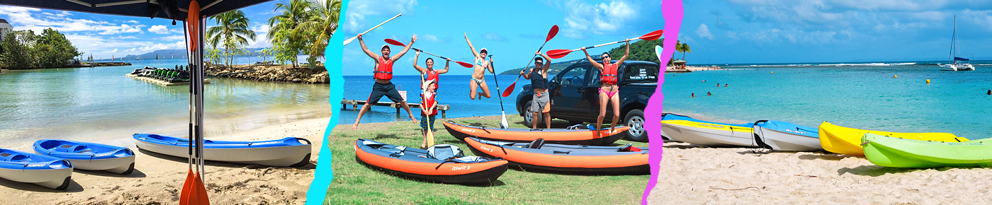 Excursion kayak - Guadeloupe
