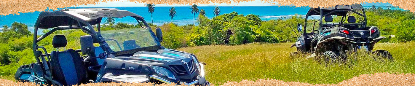 Location Buggy quad SSV guadeloupe