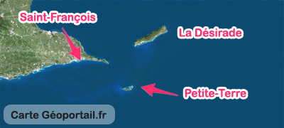 carte excursion Petite-Terre