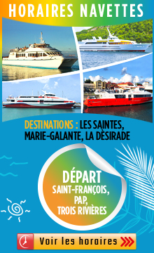 horaire traversier Guadeloupe