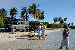 land-rover-plage