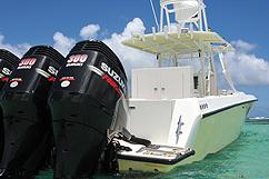 bateau 3 moteurs