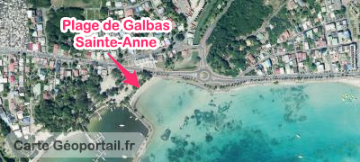 carte location seabob Sainte-Anne
