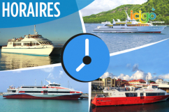 Horaire navettes guadeloupe