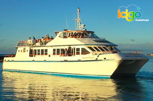 Navette bateau saint françois marie galante u2013 aller retour