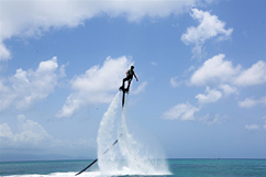 Flyboard freestyle Sainte-Anne et Port-Louis