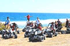 Buggy and quads on the beach