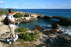 Segway at Pointe des chateaux