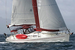 Aliza sailboat