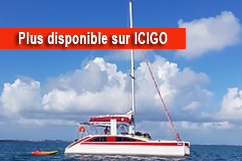 Location catamaran vers Îlet Gosier et Îlet Fortune