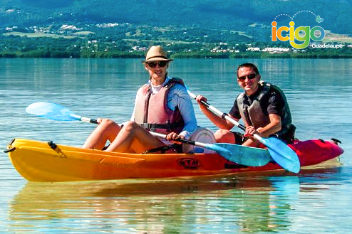 Excursion kayak avec guide Grand cul-de-sac Marin