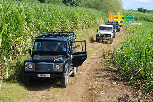 excursion 4x4 basse-terre Guadeloupe