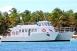 Awak - Petite Terre en catamaran moteur