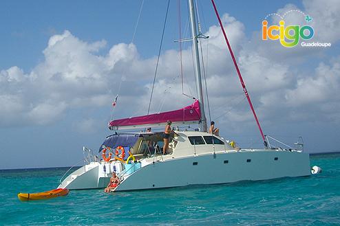 Catamaran et Kayak