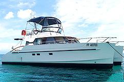 Catamaran moteur Flibustier