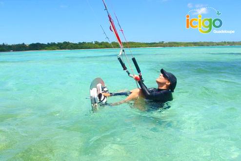 Cours de Kite Surf - Sainte Anne
