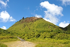 Volcano Soufriere Guadeloupe