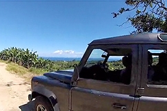 4x4 excursion Soufriere