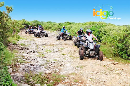 Excursion quad et buggy Guadeloupe