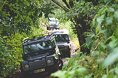 Excursion en Land Rover