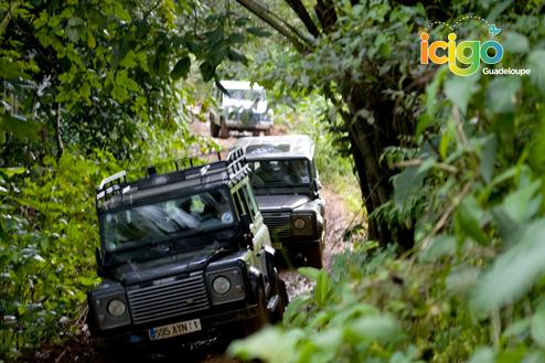 Excursion en Land Rover