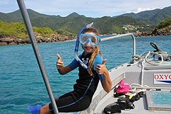 Plongée apnée réserve Cousteau