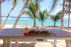 Restaurant bord de plage