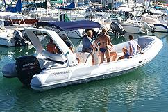 Location bateau semi-rigide sans skipper
